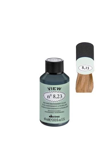 Davines Davines View Yarı Kalıcı Saç Boyası 8,23 Açık Kumral Irize Dore 60 Ml Renksiz